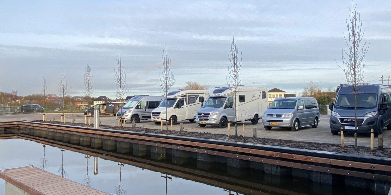 Camperplaats open-Camperplaats Leeuwarden